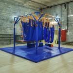Дом Совы, модуль из металлоконструкций и мягких элементов