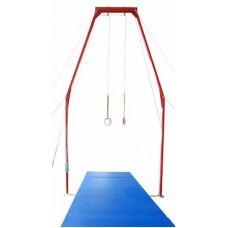 Зона приземления для гимнастических колец