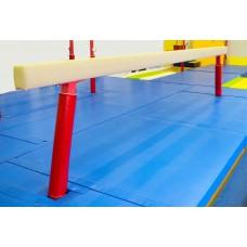 Зона приземления для гимнастического бревна