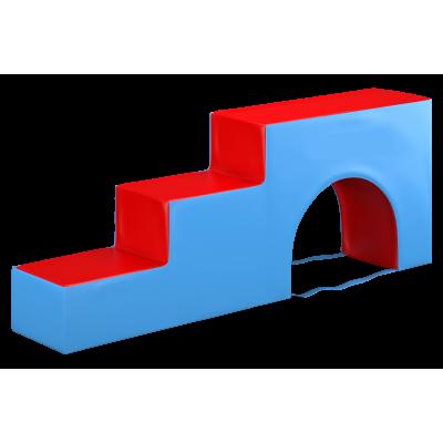 Мягкий модуль «ступенька с аркой»