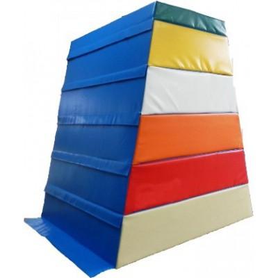 Плинт-прыжок 6 секции