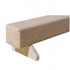 Бревно гимнастическое напольное с покрытием