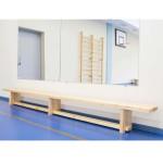 Скамья гимнастическая на деревянных ножках