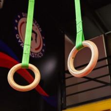 Кольца гимнастические с тросом