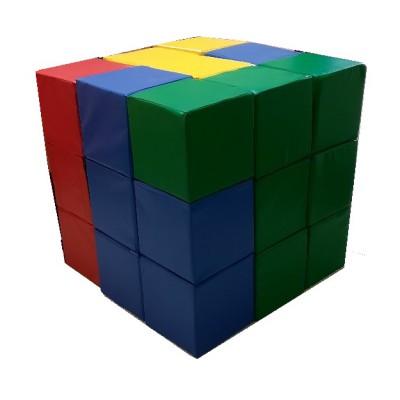 Мягкий конструктор «Кубик-рубик»