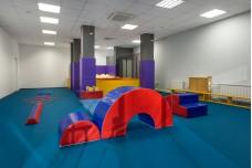 Разные залы Академии  Гимнастики