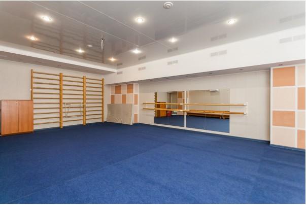 Ролл-маты для зала хореографии, зона приземления в ДЮСШ Юность г. Екатеринбург
