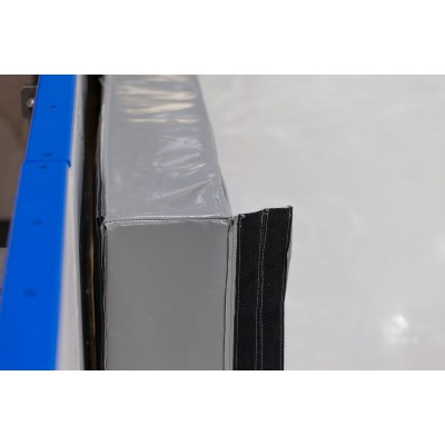 Спортивный мат для шорт трека ткань ПВХ  2*1*0,4 м