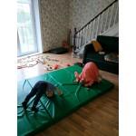 Складной гимнастический мат