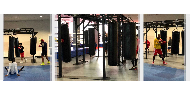 Оборудование спортивных залов боксерскими мешками