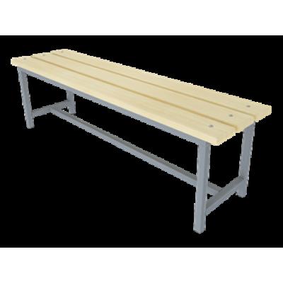 Купить скамейку для раздевалок без спинки